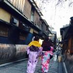 明後日から始業式!その前に着物レンタルで京都の桜を♪2016年4月5日21