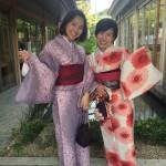 京都の着物レンタルで週末の団体女子旅行♪2016年4月23日19