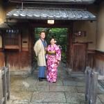 フランスから着物レンタルで京都の都をどりを♪2016年4月12日6