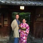 フランスから着物レンタルで京都の都をどりを♪2016年4月12日5