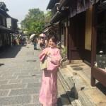 京都の着物レンタルで週末の団体女子旅行♪2016年4月23日11