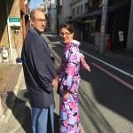 海外から京都で着物レンタル!グローバルな一日!2016年4月11日13