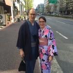 海外から京都で着物レンタル!グローバルな一日!2016年4月11日14