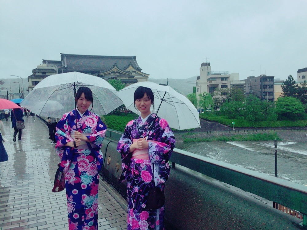 大阪からの高校生1クラス全員で着物レンタル♪2016年4月28日13
