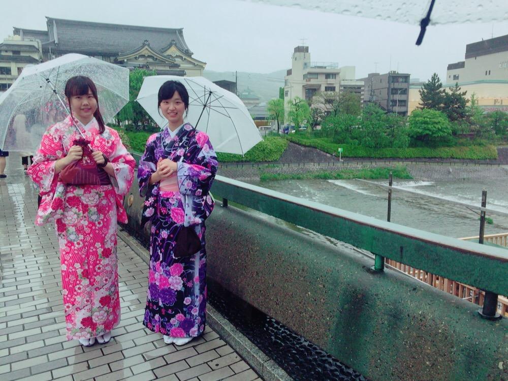 大阪からの高校生1クラス全員で着物レンタル♪2016年4月28日14