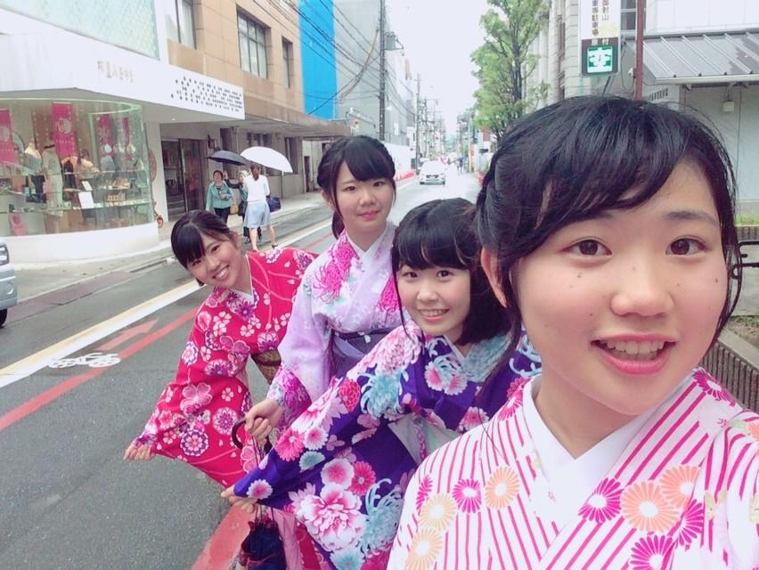 大阪からの高校生1クラス全員で着物レンタル♪2016年4月28日23