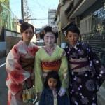 海外から京都で着物レンタル!グローバルな一日!2016年4月11日18