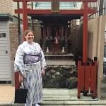 アメリカから京都のゲストハウスに宿泊!2016年4月14日4