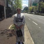 アメリカから京都のゲストハウスに宿泊!2016年4月14日5
