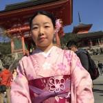 海外から京都で着物レンタル!グローバルな一日!2016年4月11日21