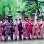大阪からの高校生1クラス全員で着物レンタル♪2016年4月28日22