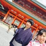 着物レンタルで桜満開の京都を散策!2016年4月2日8
