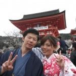 着物レンタルで桜満開の京都を散策!2016年4月2日10