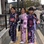 京都の桜満開!着物レンタルでお花見♪2016年4月3日20