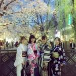 京都の桜満開!着物レンタルでお花見♪2016年4月3日26