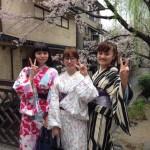 京都の桜満開!着物レンタルでお花見♪2016年4月3日25
