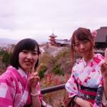 京都の桜満開!着物レンタルでお花見♪2016年4月3日32