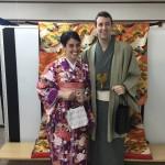 海外から京都で着物レンタル!グローバルな一日!2016年4月11日1