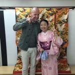 海外から京都で着物レンタル!グローバルな一日!2016年4月11日5