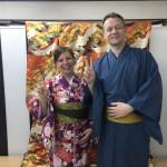 フランスから着物レンタルで京都の都をどりを♪2016年4月12日1