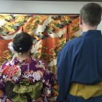フランスから着物レンタルで京都の都をどりを♪2016年4月12日2