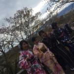 残りの春休みを着物レンタルで京都を満喫♪2016年4月4日18
