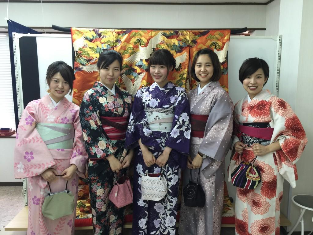 京都の着物レンタルで週末の団体女子旅行♪2016年4月23日1
