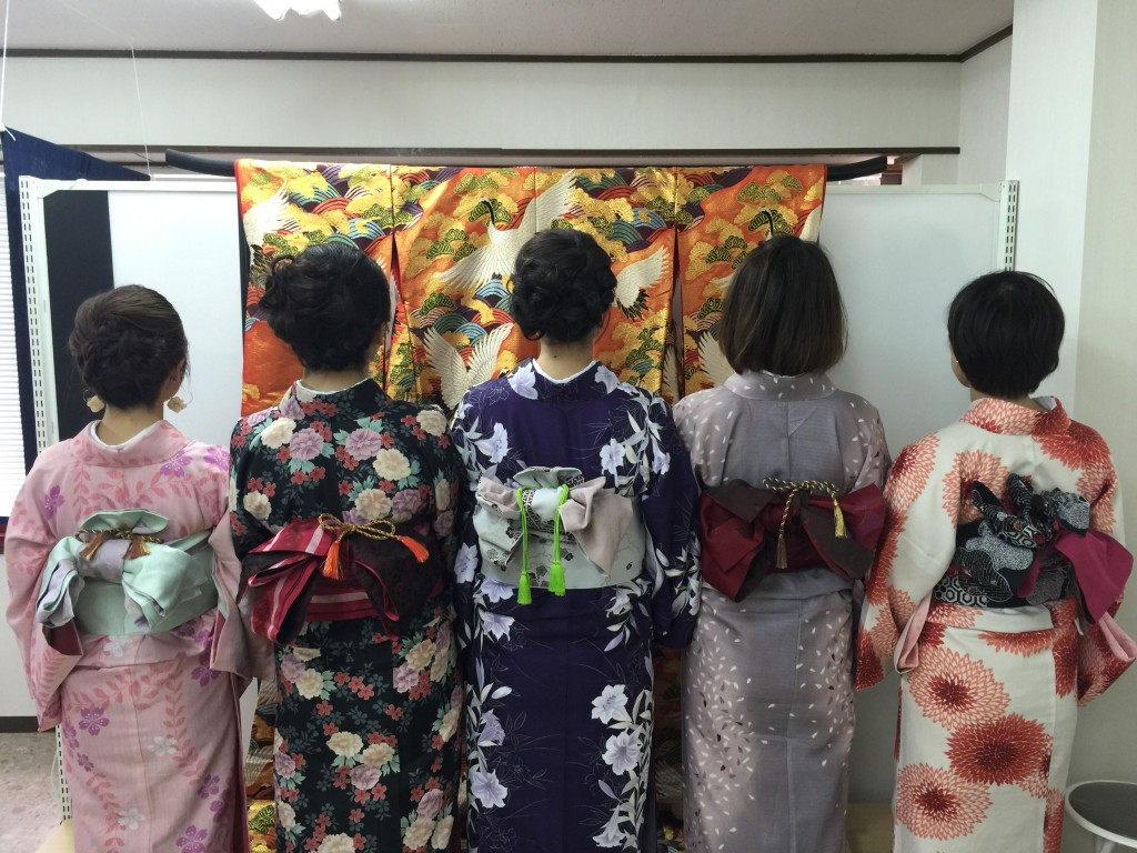 京都の着物レンタルで週末の団体女子旅行♪2016年4月23日3