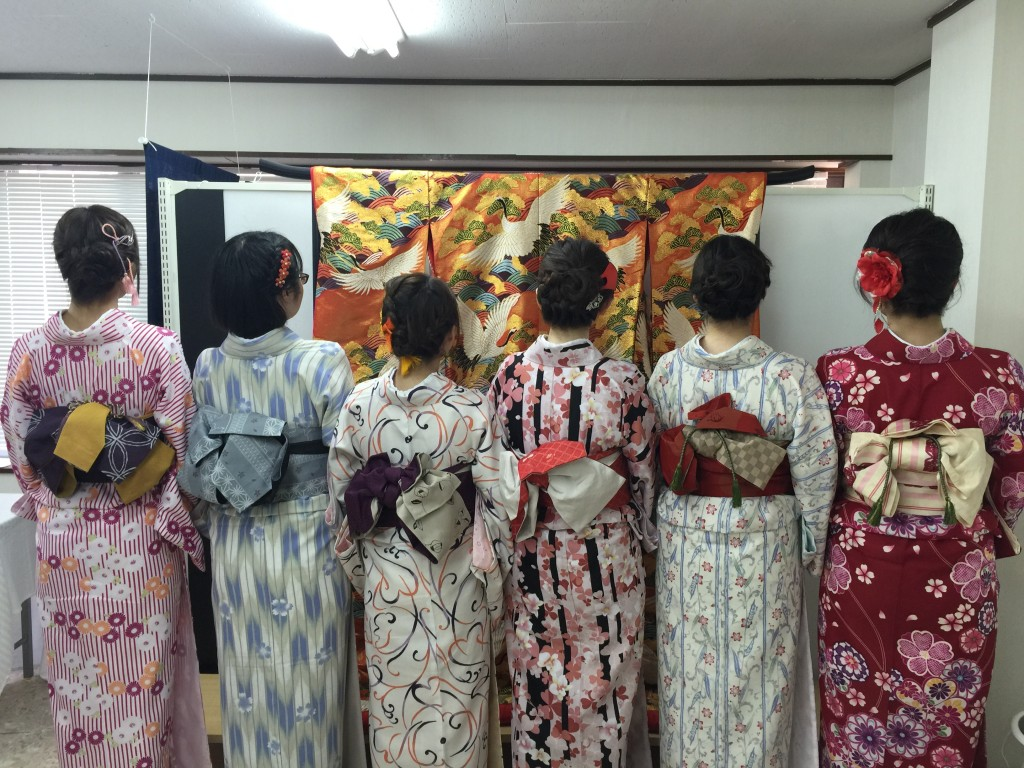 京都の着物レンタルで週末の団体女子旅行♪2016年4月23日9