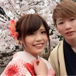 明後日から始業式!その前に着物レンタルで京都の桜を♪2016年4月5日19