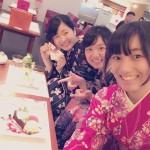 大阪からの高校生1クラス全員で着物レンタル♪2016年4月28日18