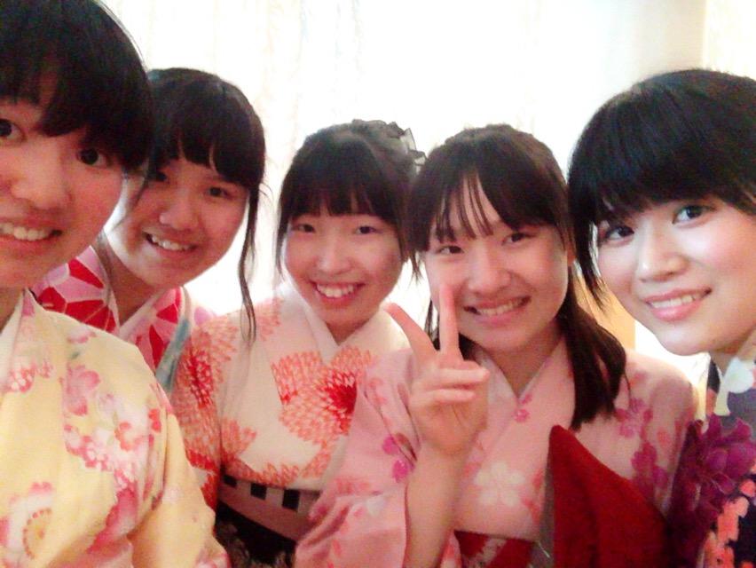 大阪からの高校生1クラス全員で着物レンタル♪2016年4月28日5