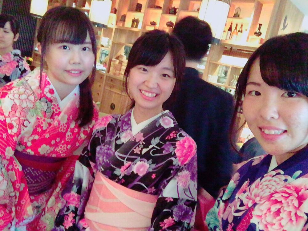 大阪からの高校生1クラス全員で着物レンタル♪2016年4月28日10