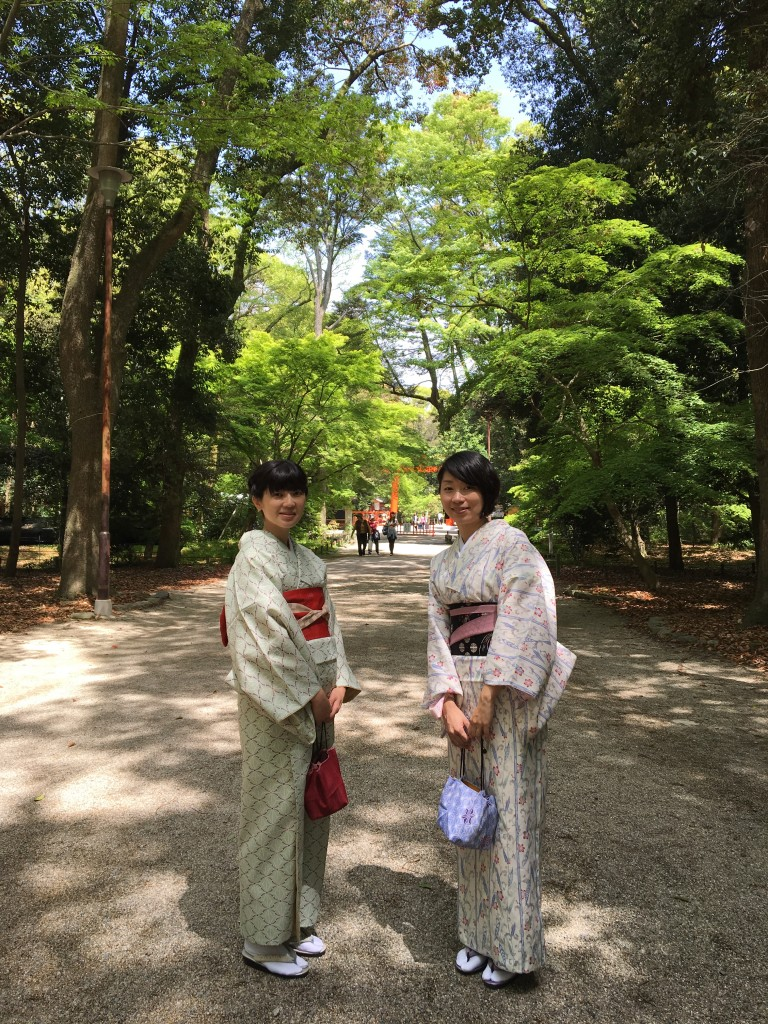 GW前の最後の週末に京都で着物レンタル!2016年4月24日6