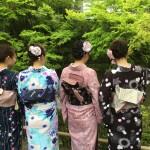 京都の着物レンタルで週末の団体女子旅行♪2016年4月23日24