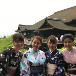 京都の着物レンタルで週末の団体女子旅行♪2016年4月23日23