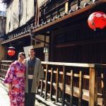 海外から京都で着物レンタル!グローバルな一日!2016年4月11日15