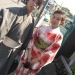 今日は全て大阪からのお客様が着物レンタル!2016年5月5日20