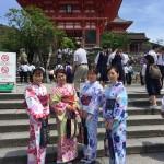 同級生!着物レンタルで京都 清水寺へ2016年5月17日8