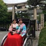 週末は京都で着物レンタル!2016年5月29日15