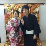 先月、浅草店で着物レンタル!今日は京都店で嵐山へ!2016年5月1日1