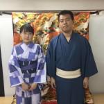 今日は全て大阪からのお客様が着物レンタル!2016年5月5日4