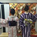 今日は全て大阪からのお客様が着物レンタル!2016年5月5日8