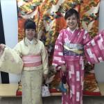 今日は全て大阪からのお客様が着物レンタル!2016年5月5日12