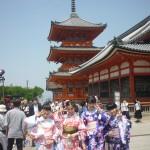 修学旅行生!着物レンタルで京都観光♪2016年5月22日10