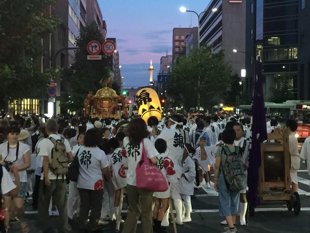 2016京都 夜のイベント5