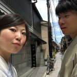 カップルで着物レンタル!京都を満喫!2016年6月1日8