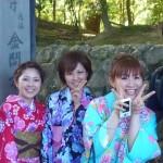 着物レンタルで京都金閣寺へ!2016年6月2日5