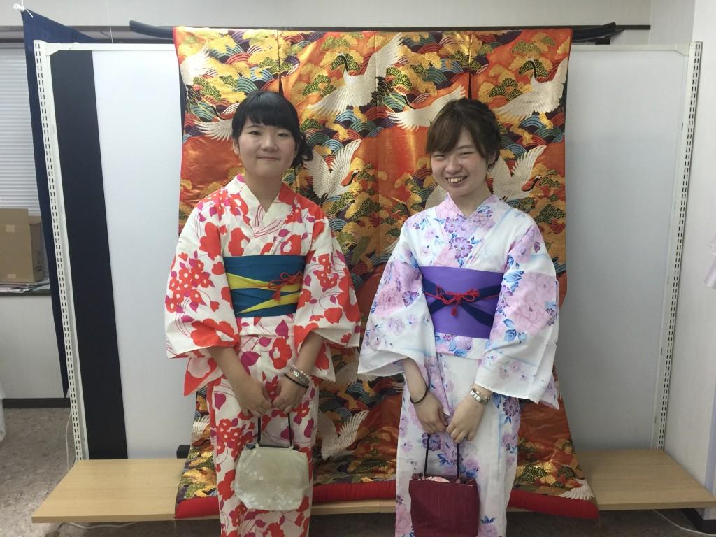 夏休み!京都で浴衣レンタル!2016年7月26日1