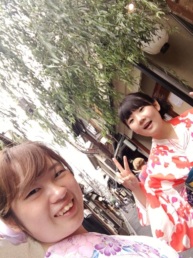 夏休み!京都で浴衣レンタル!2016年7月26日4